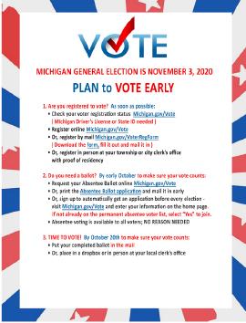 Michigan Voter Flyer