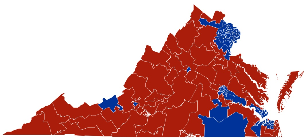 Virginia State house districts